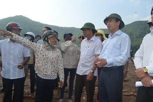 Bí thư Thành ủy Đà Nẵng xuống hiện trường kiểm tra bãi rác ô nhiễm