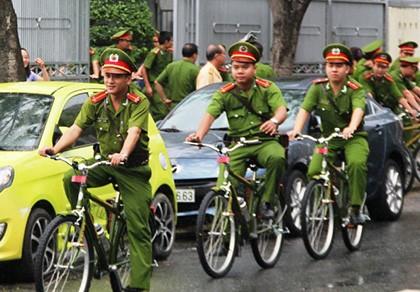 Công an TP Đà Nẵng tiếp nhận 100 xe đạp chuyên dụng đi tuần tra