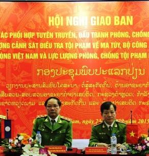 Việt-Lào hợp tác đấu tranh chống tội phạm ma túy xuyên biên giới