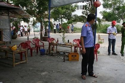 Nam thanh niên bị đâm tử vong bằng vỏ chai bia
