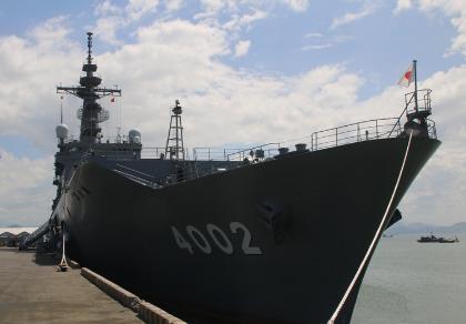 Hai tàu hải quân Mỹ - Nhật đến Đà Nẵng tham gia PP16
