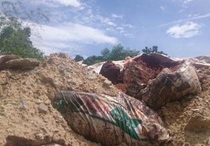 Công an điều tra vụ công ty nghi chôn 10 tấn chất thải nguy hại