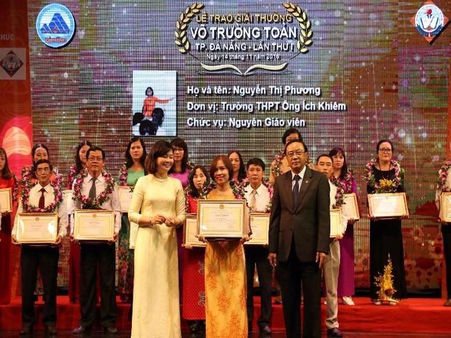 Đà Nẵng vinh danh 20 nhà giáo tiêu biểu