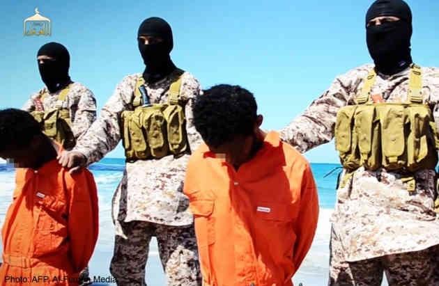 IS thảm sát 30 tín đồ Thiên chúa giáo tại Libya