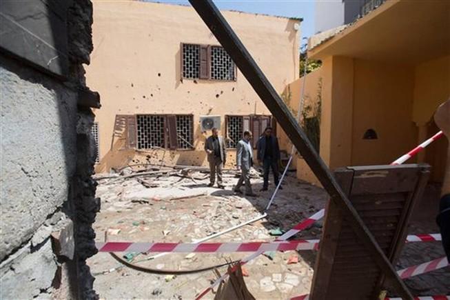 Nổ bom tại Đại sứ quán Tây Ban Nha