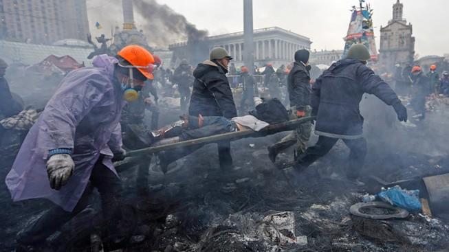 Ba Lan đào tạo xạ thủ giết người biểu tình Ukraine
