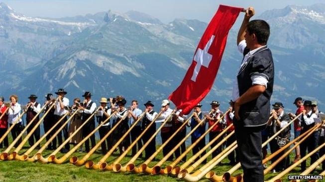 Thụy Sỹ trở thành quốc gia hạnh phúc nhất thế giới