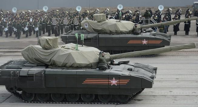 Hé lộ hỏa lực kinh khủng của siêu tăng Armata T-14
