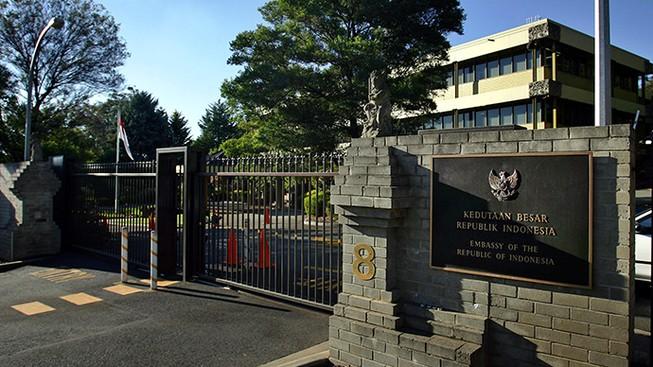Sứ quán Indonesia tại Úc đóng cửa vì gói bột 'khả nghi'