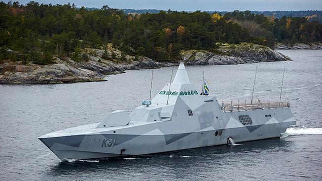 Thụy Điển cáo buộc tàu chiến Nga 'quấy nhiễu'