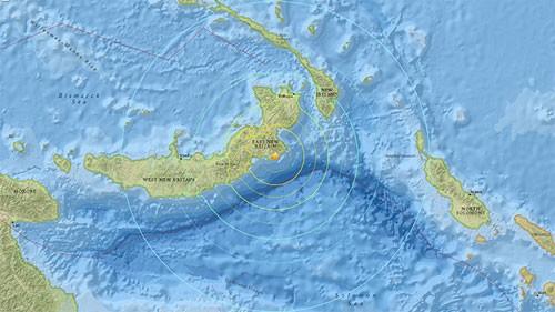Động đất 7.5 độ Richter, cảnh báo sóng thần phía Nam Thái Bình Dương