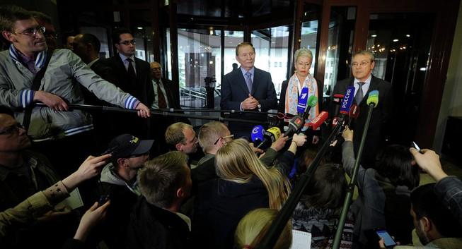 Đàm phán hòa giải Ukraine có bước đột phá