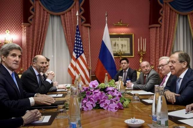 Nga Mỹ gặp mặt, thảo luận về Ukraine