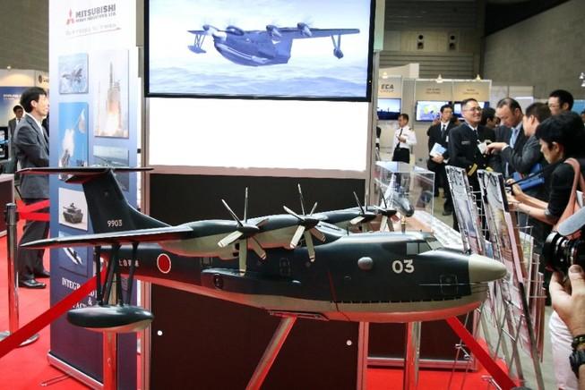 Nhật Bản rầm rộ hội chợ vũ khí hàng hải