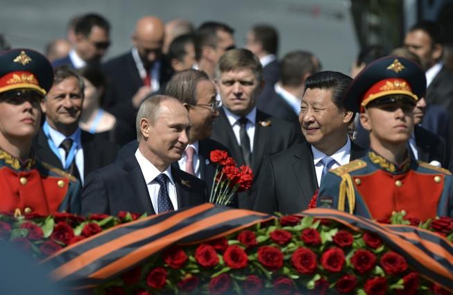 Nga-Trung: Bằng mặt nhưng chưa chắc bằng lòng