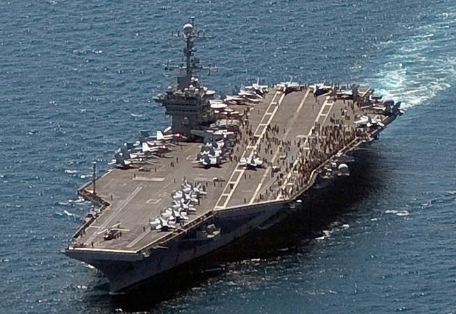 Tàu sân bay Mỹ sẽ tập trận ở Biển Đông?