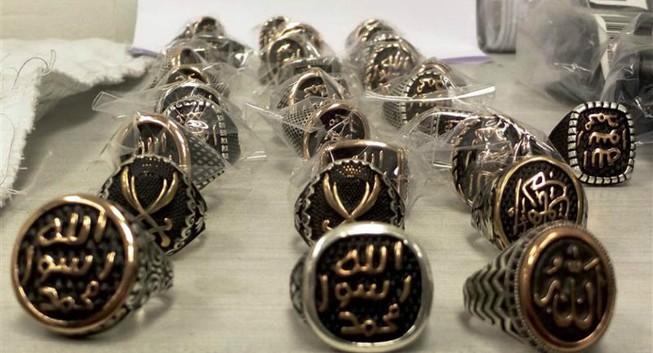 Đồ trang sức IS bị tịch thu tại sân bay