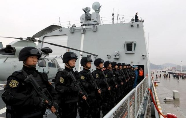 Trung Quốc bắt 9 người tung tin đồn bôi nhọ quân đội