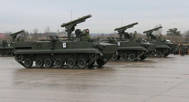 """Nga bán xe chống tăng """"siêu khủng"""" sang Trung Đông"""
