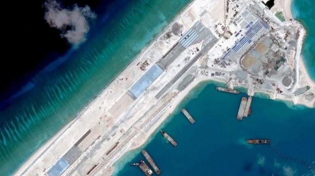 Trung Quốc công bố chi tiết công trình phi pháp ở biển Đông