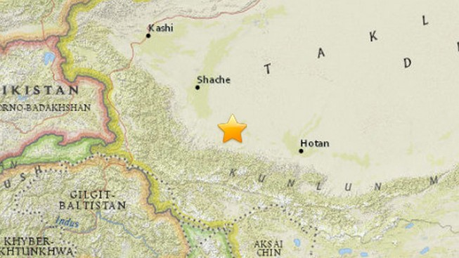Động đất làm rung chuyển Tây Bắc Trung Quốc