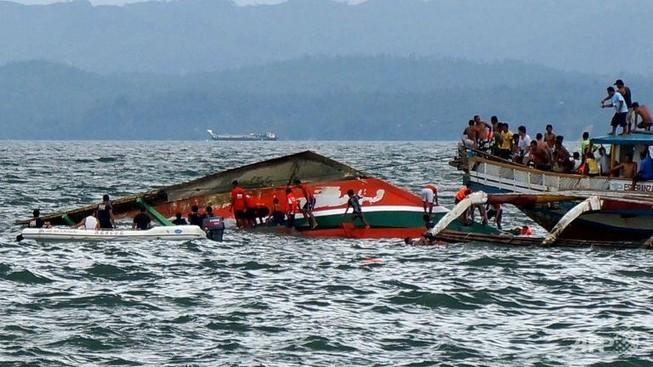 Lật phà ở Philippines: Số người chết lên đến 51 người