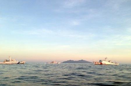 Nhật Bản diễn tập đối phó sự cố 'vùng xám' trên biển Hoa Đông