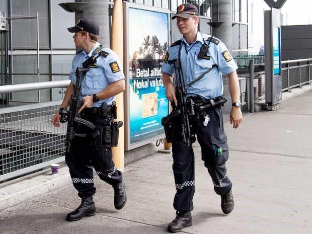 Cả năm 2014, cảnh sát Na Uy chỉ bắn hai phát đạn