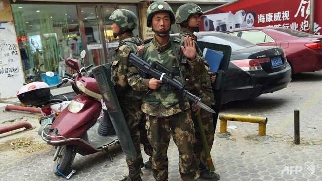 Cảnh sát Trung Quốc bắn chết ba phần tử khủng bố