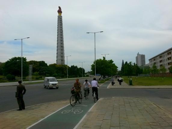 Triều Tiên ban chính sách 'ưu ái' cho người đi xe đạp