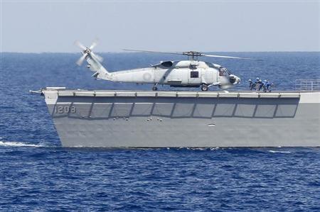 Trung Quốc biện bạch cuộc tập trận mới đây tại biển Đông