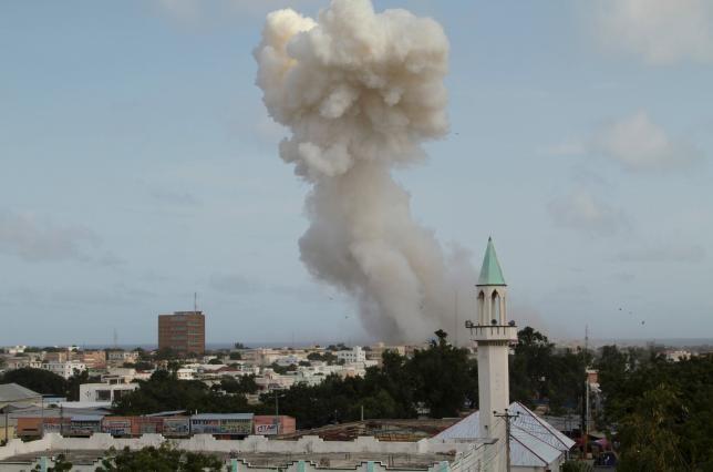Đánh bom khách sạn Somali, 15 người thiệt mạng