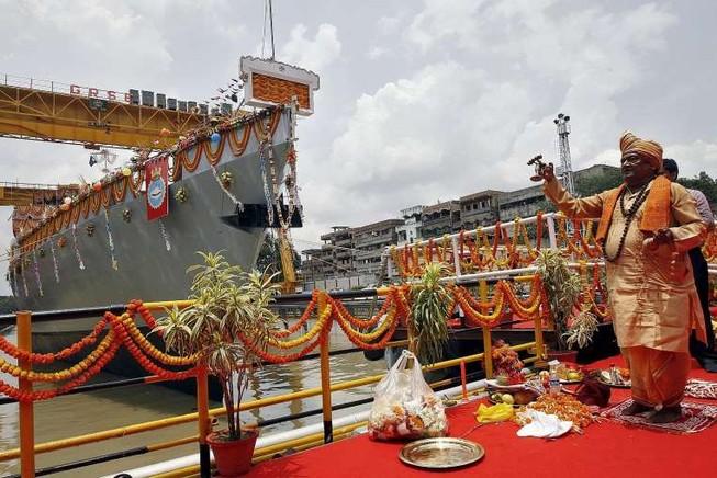 Ấn Độ 'cảnh báo' Trung Quốc bằng dự án hải quân 61 tỉ USD