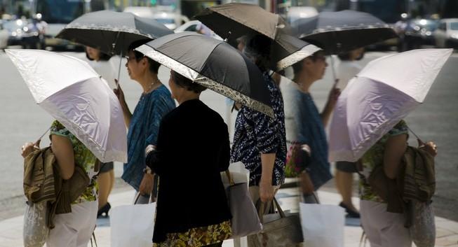 Nhật Bản: Nắng nóng khiến hơn 40 người thiệt mạng