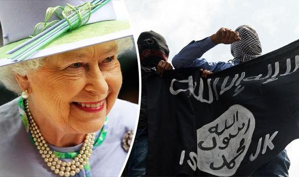 IS âm mưu đánh bom giết Nữ hoàng Anh