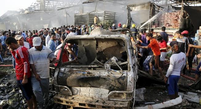 Nổ bom tại Baghdad: Ít nhất 60 người chết, 200 người bị thương