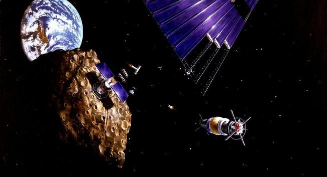 Sắp tới kỉ nguyên khai thác nguyên liệu hiếm trong vũ trụ?