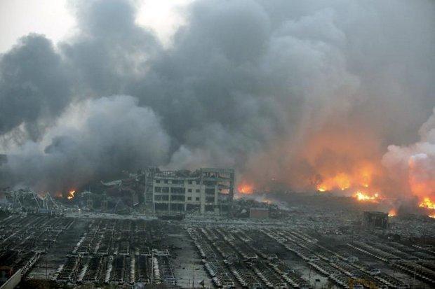 Lính cứu hỏa Trung Quốc kinh hoàng kể lại 'hỏa ngục' Thiên Tân