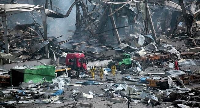 Vụ nổ ở Thiên Tân: Số người chết lên đến 112