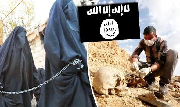IS tàn ác buôn bán nội tạng nô lệ tình dục