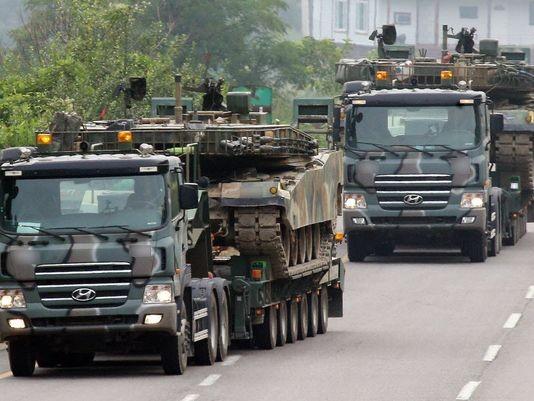 Mỹ ngừng tập trận với Hàn Quốc