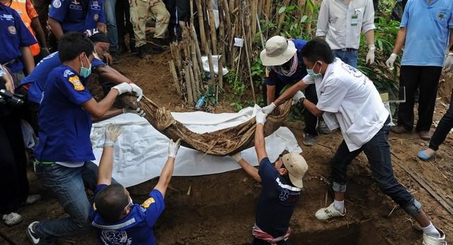 Phát hiện 24 thi thể ở biên giới Malaysia -Thái Lan