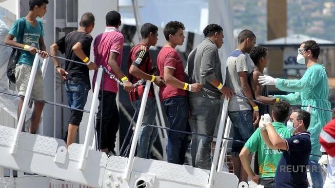 Hải quân Ý cứu 4.400 người tị nạn ngoài khơi Libya