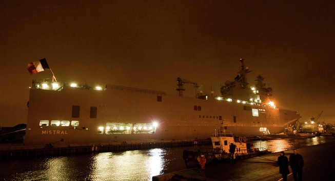Malaysia tính mua tàu Mistral 'hụt' của Nga