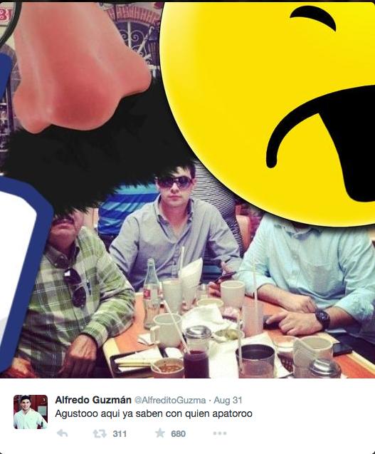 Trùm ma túy lộ nơi trú ẩn vì con trai xài Twitter