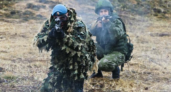 Quân khu miền trung Nga trong tình trạng sẵn sàng chiến đấu