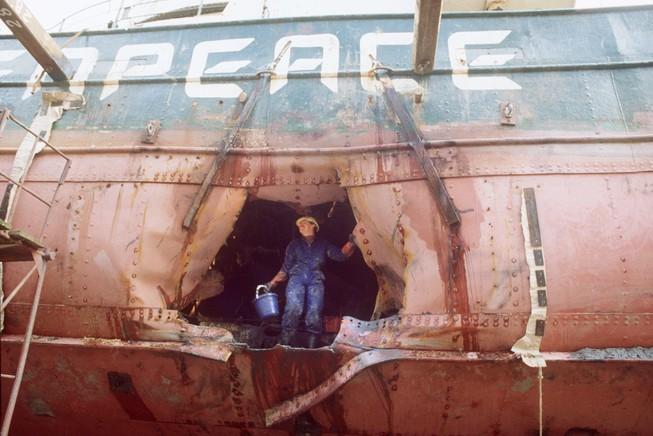 Điệp viên đánh chìm tàu Hòa bình Xanh xin lỗi sau 30 năm