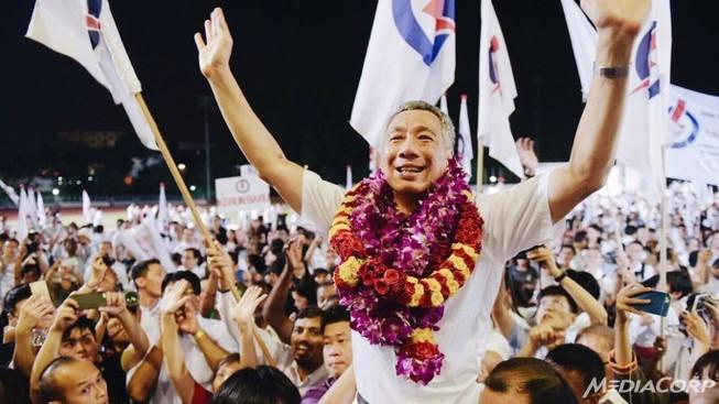 Bầu cử Singapore: Đảng của ông Lý Hiển Long lại thắng lớn