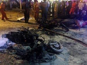 Nổ bom ở Thái Lan, 2 người chết