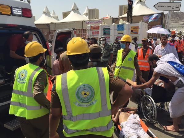 Giẫm đạp kinh hoàng tại thánh địa Mecca: 220 người chết